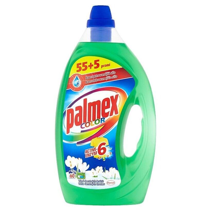 Palmex Color Active-Enzym 6 prací prostriedok 60 praní  3,00 l