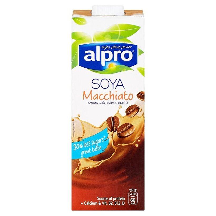 Alpro Sójový nápoj s príchuťou macchiato 1 l