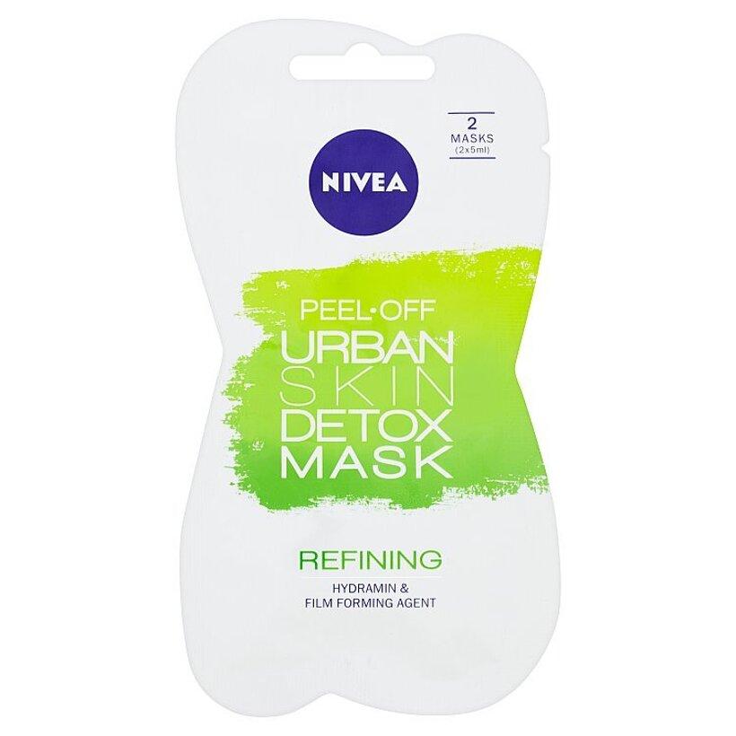 Nivea Urban Skin Detox Zlupovacia zjemňujúca maska 2 x 5 ml
