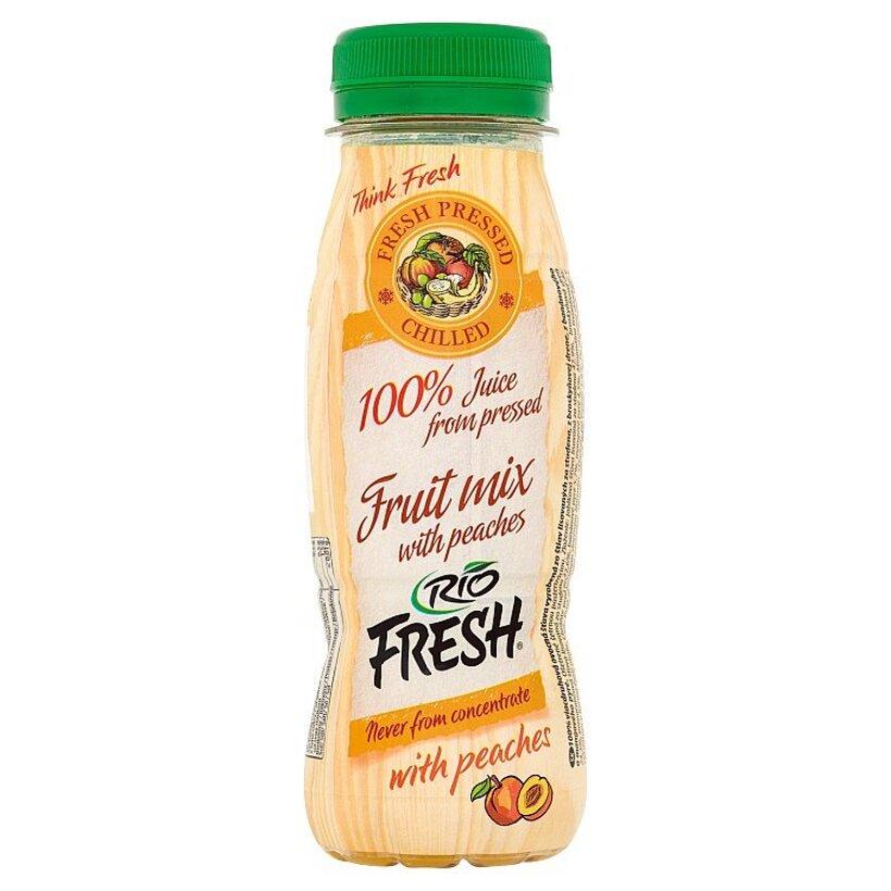 RIO FRESH 100% viacdruhová ovocná šťava 200 ml