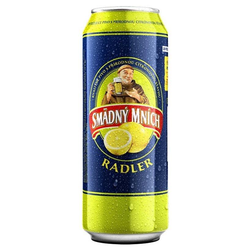 Smädný Mních Radler alkoholický pivný nápoj s príchuťou citróna 500 ml