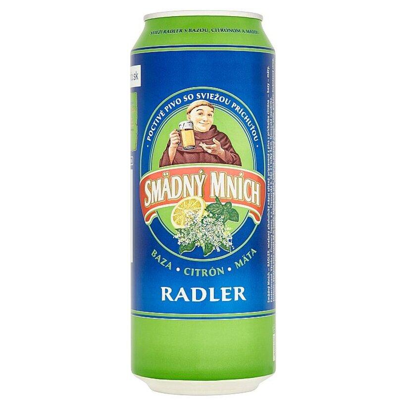 Smädný Mních Radler Baza citrón mäta 500 ml