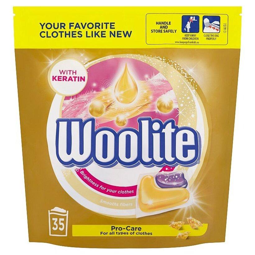 Woolite Pro-Care gélové kapsuly na pranie 35 praní 770 g