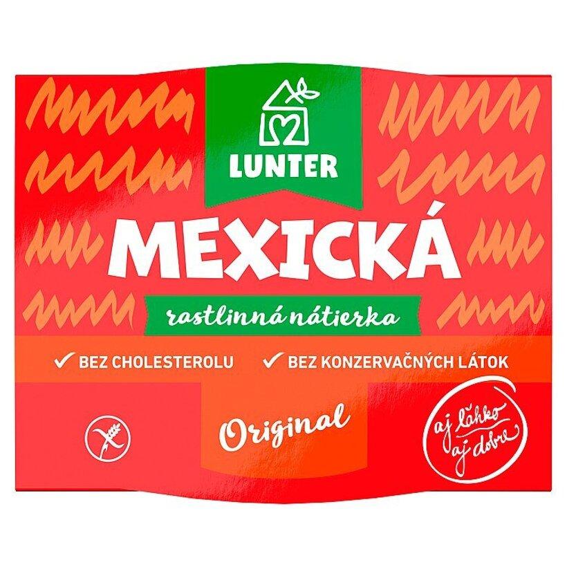 Lunter Mexická rastlinná nátierka 115 g