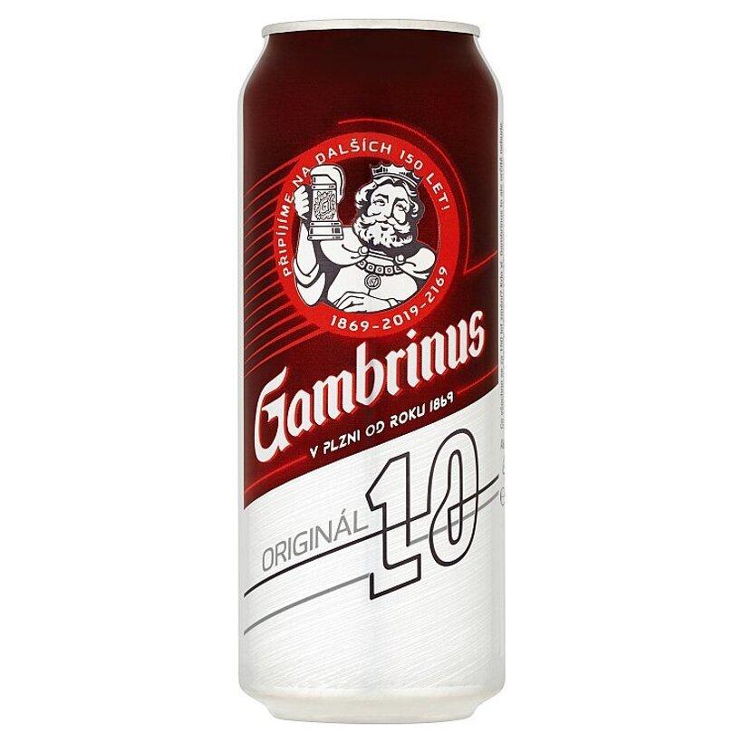 Gambrinus Originál 10% pivo výčapné svetlé 500 ml