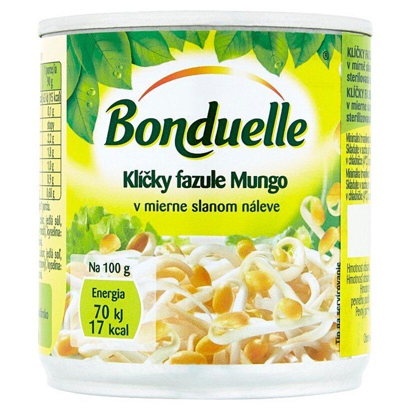 Bonduelle Klíčky fazule Mungo v mierne slanom náleve 200 g