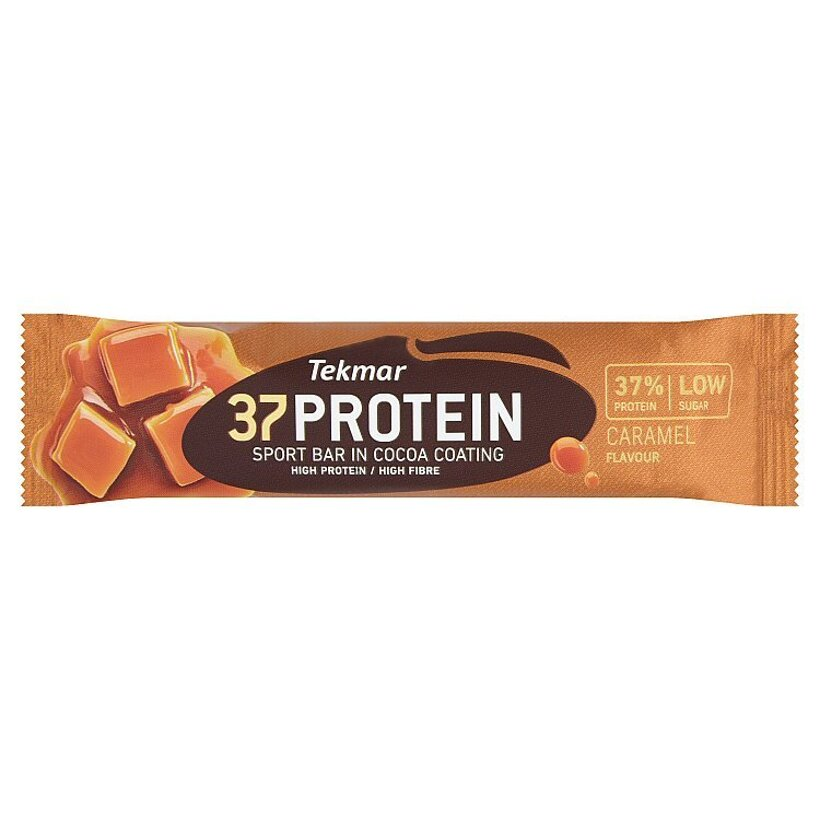 Tekmar 37 Protein Caramel proteínová tyčinka 45 g