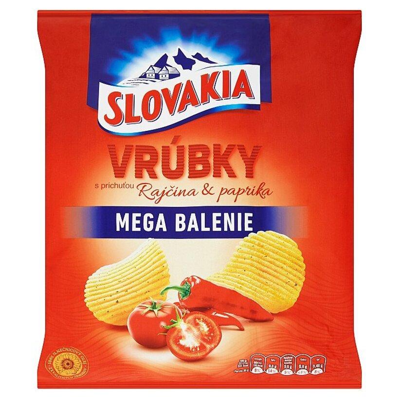 Slovakia Vrúbky s príchuťou rajčina & paprika 210 g