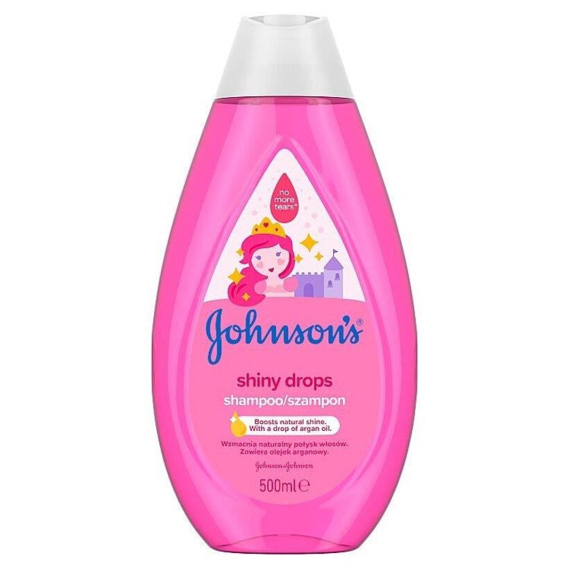 Johnson's Shiny Drops šampón 500 ml