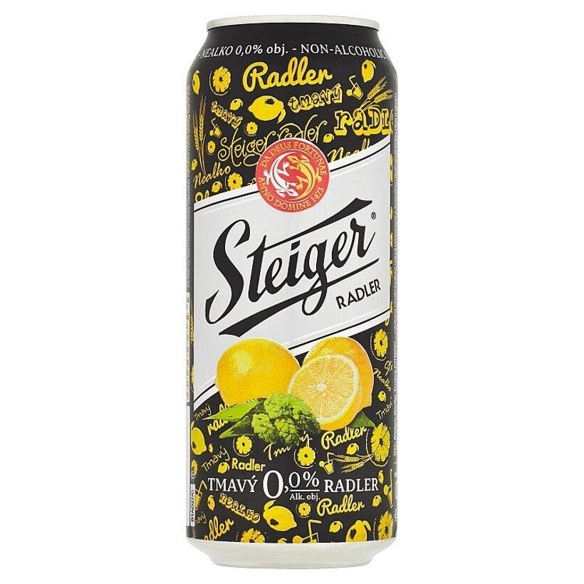 Steiger Radler tmavý citrón 0,5 l