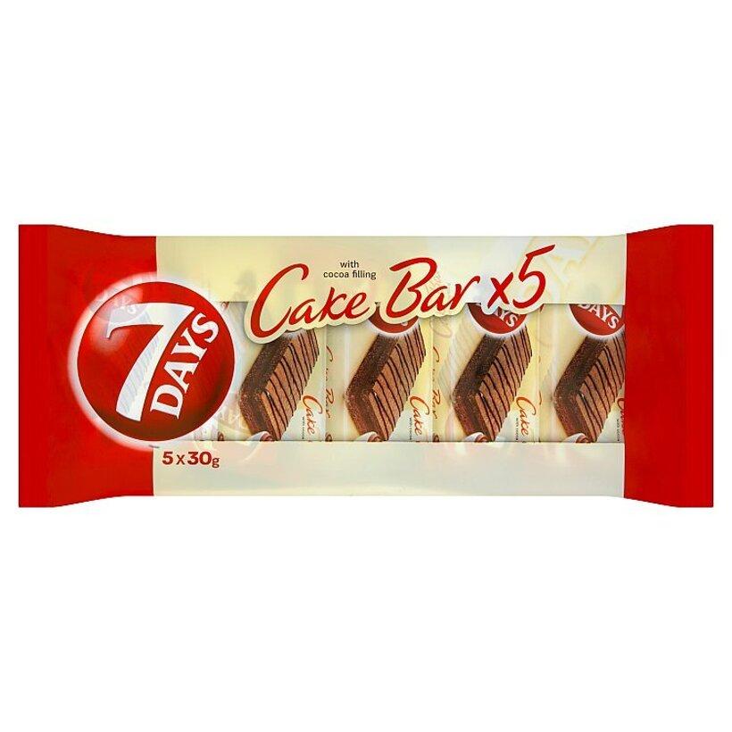 7 Days Cake bar s kakaovou náplňou 5 x 30 g