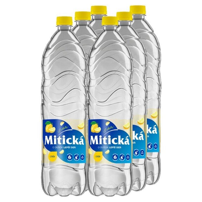 Mitická Citrón sýtený nealkoholický nápoj 6 x 1,5 l