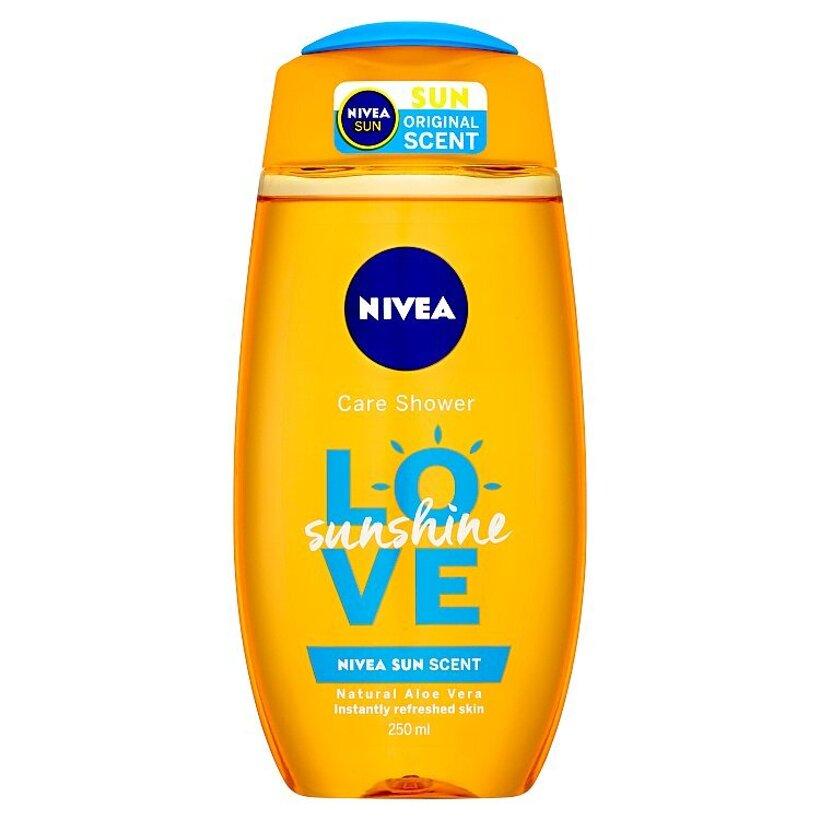 Nivea Love Sunshine Osviežujúci sprchový gél 250 ml