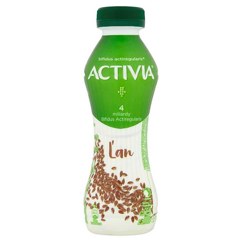 Danone Activia Biela ľan jogurtový nápoj 280 g