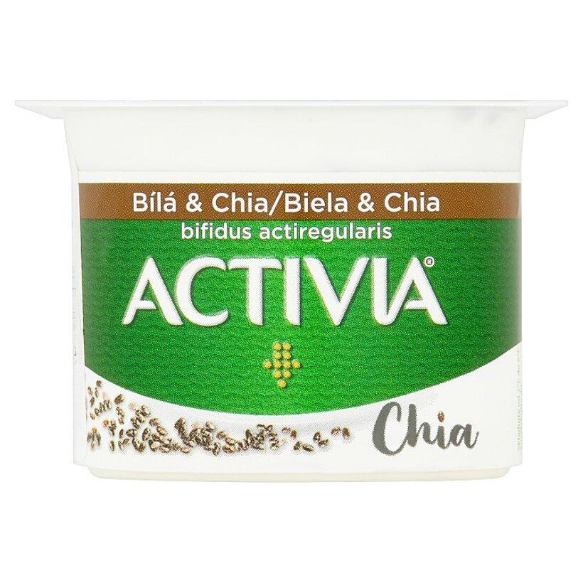 Danone Activia Jogurt biela & chia 120 g