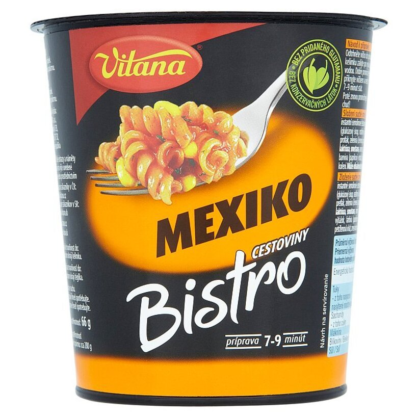 Vitana Bistro Mexiko cestoviny 66 g