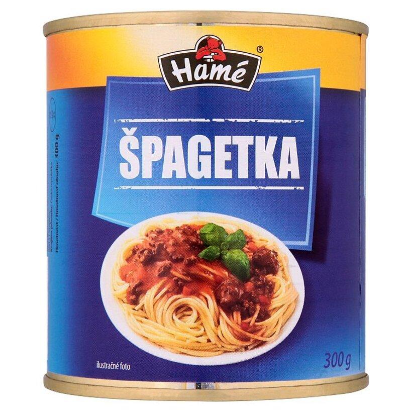 Hamé Špagetka mäsovozeleninová zmes na špagety 300 g