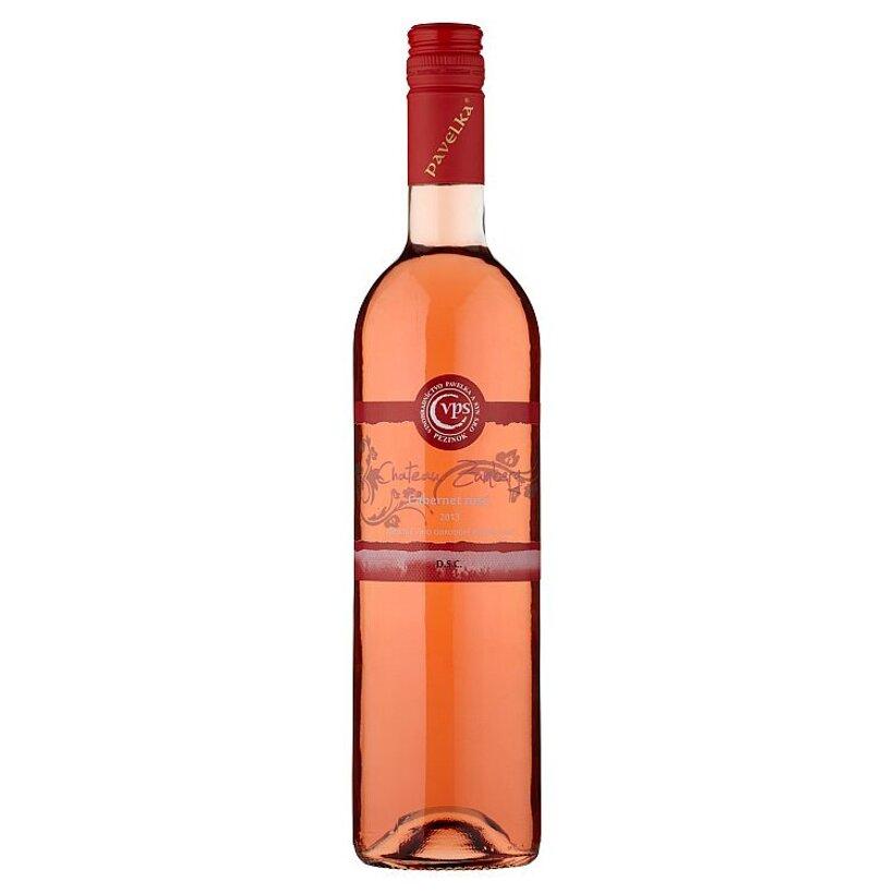 VPS Chateau Zumberg Cabernet rosé akostné víno odrodové ružové suché 0,75 l