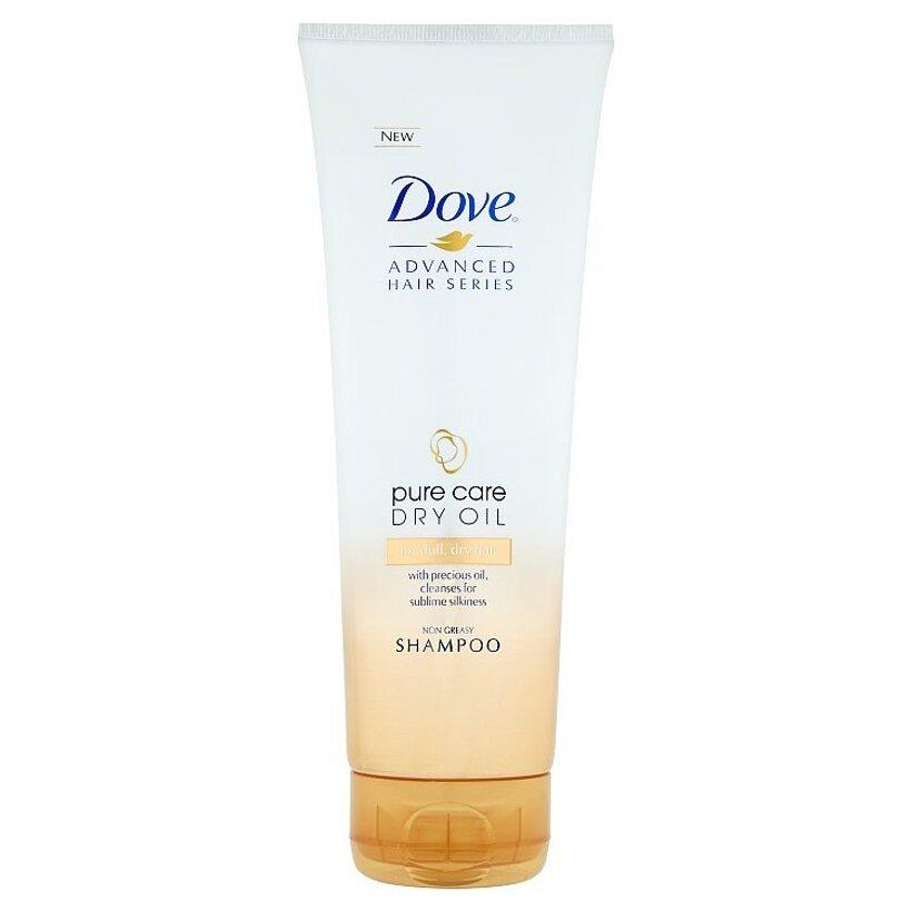 Dove Pure Care Dry Oil šampón 250 ml