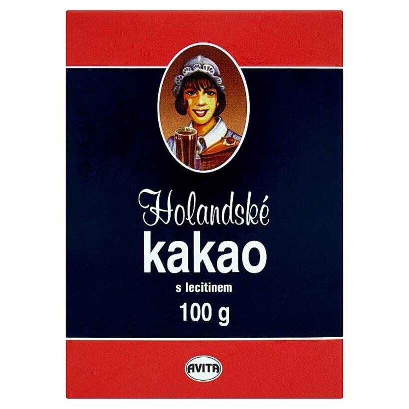 Avita Holandské kakao s lecitínom 100 g