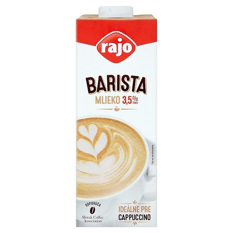 Rajo Barista mlieko 3,5% tuku 1 l