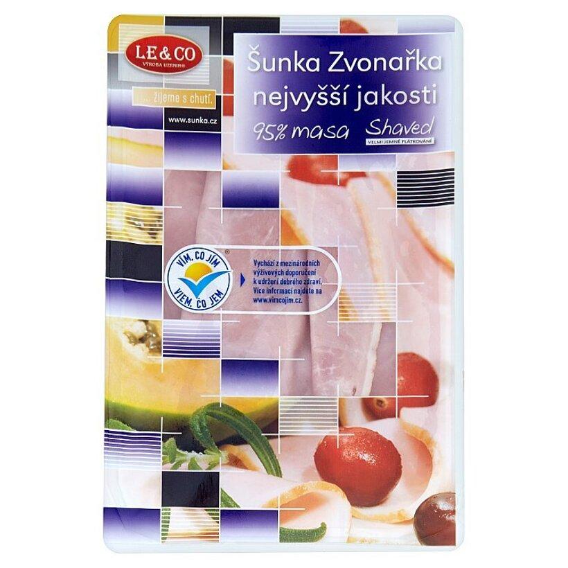 Le & Co Šunka Zvonařka špeciál veľmi jemno krájaná 100 g