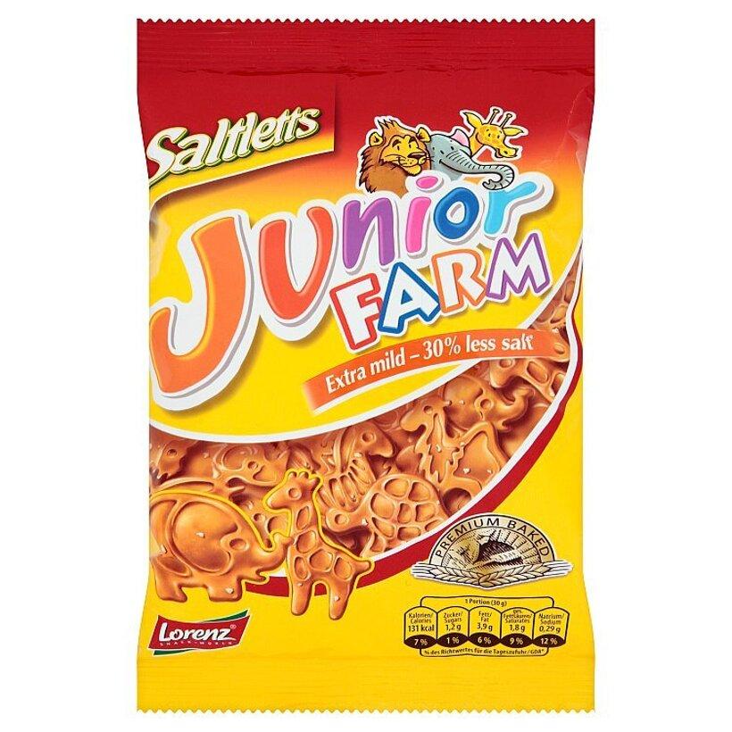 Lorenz Saltletts Junior farm slané krekry 125 g