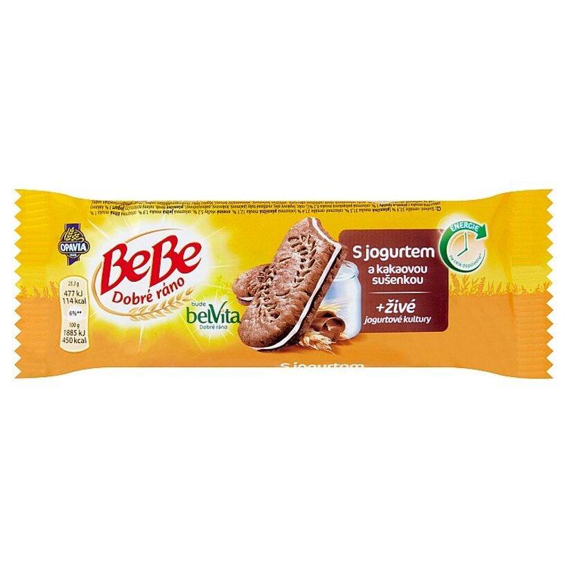 Opavia BeBe Dobré ráno s jogurtom a kakaovou sušienkou 50,6 g