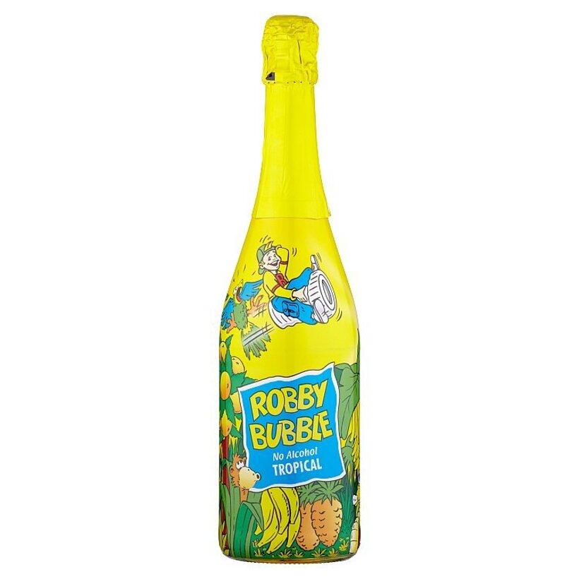 Robby Bubble Tropical sýtený nealkoholický nápoj ochutený 0,75 l