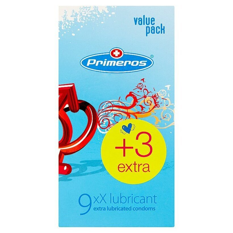 Primeros xX lubricant extra lubrikované kondómy 12 ks