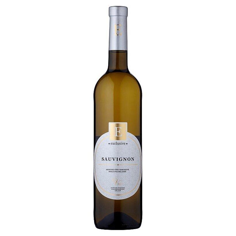 Virex Exclusive Sauvignon akostné víno biele polosladké 0,75 l