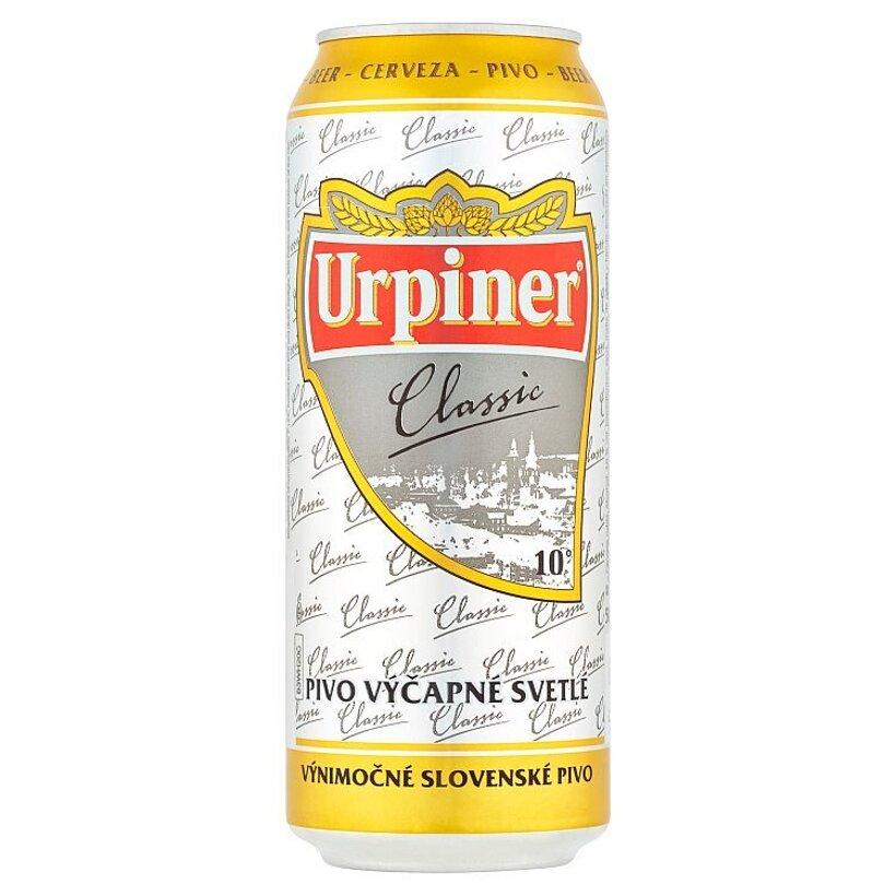Urpiner Classic pivo výčapné svetlé 500 ml