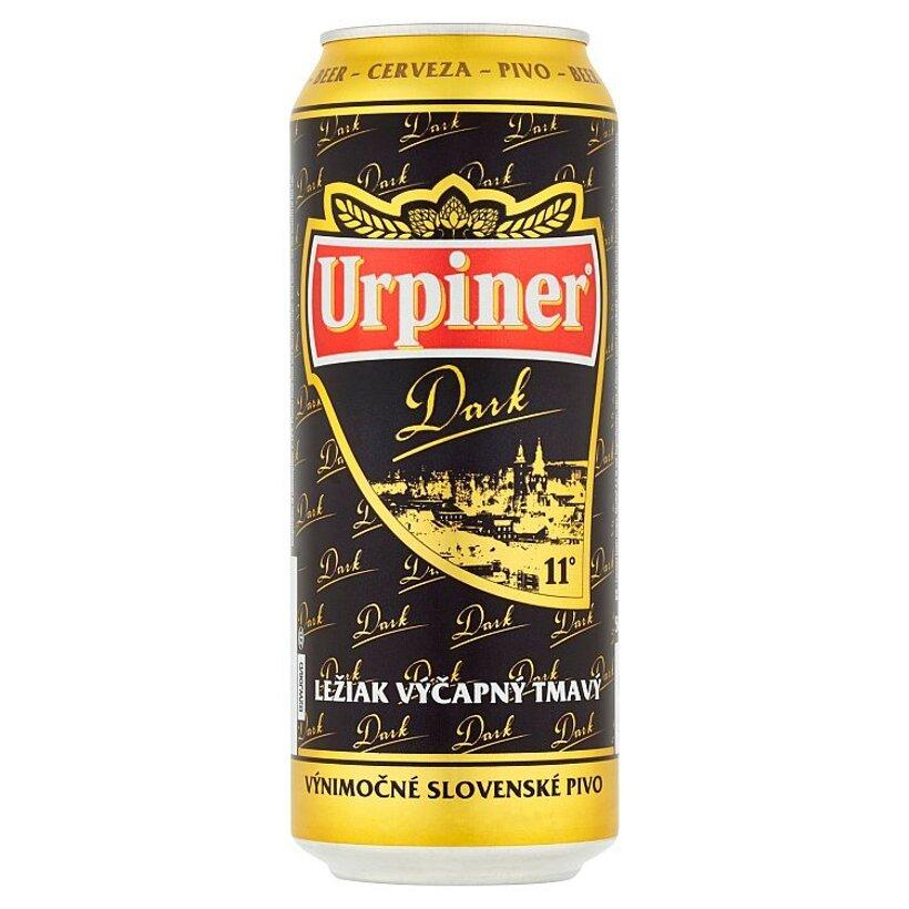 Urpiner Dark  ležiak výčapný tmavý 500 ml