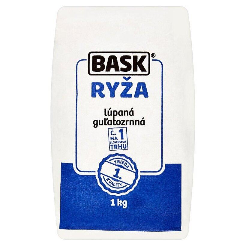 Bask Ryža lúpaná guľatozrnná 1 kg