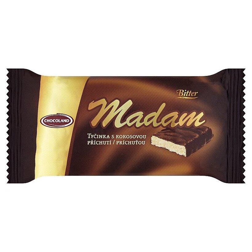 Chocoland Madam Bitter tyčinka s kokosovou príchuťou 100 g
