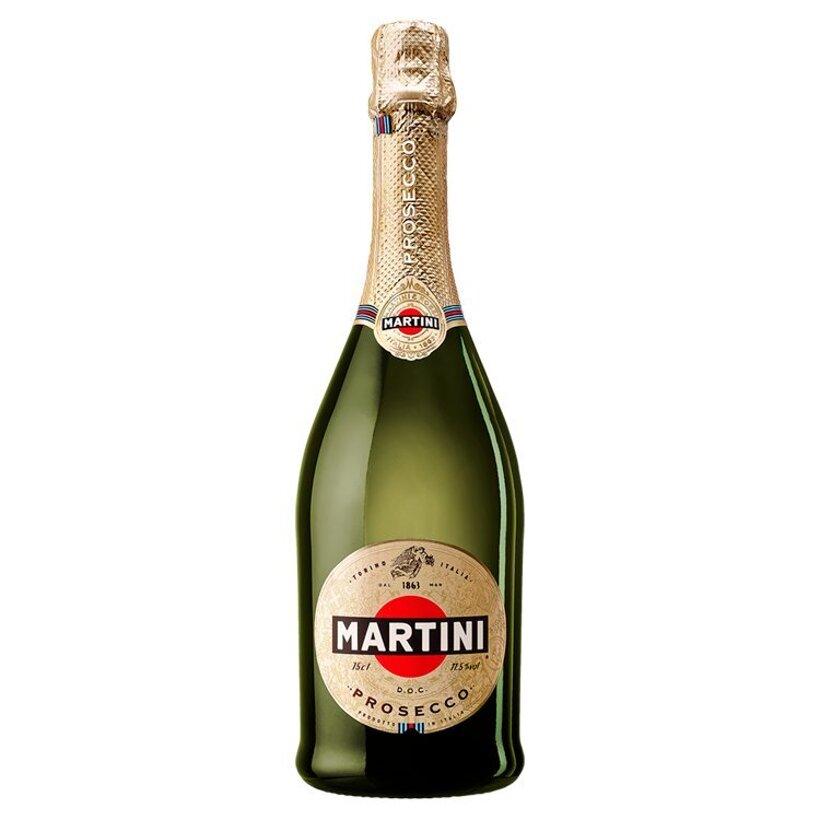 Martini Prosecco D.O.C akostné aromatické šumivé víno biele suché 750 ml