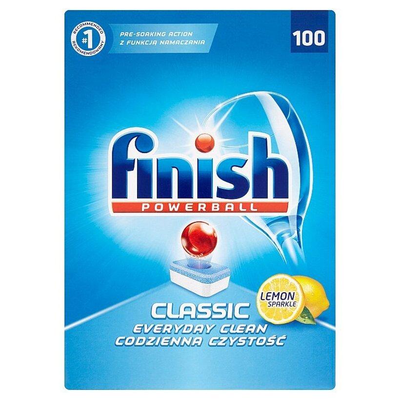 Finish Powerball Classic lemon tablety do umývačky riadu 100 ks 1810 g
