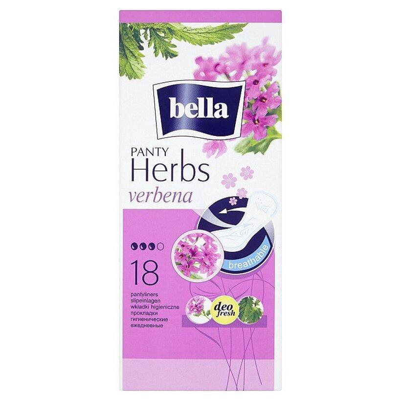 Bella Herbs Verbena priedušné slipové vložky 18 ks