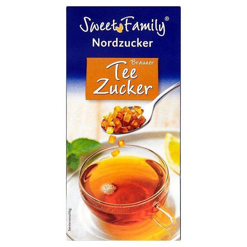 Sweet Family Hnedý čajový cukor 500 g