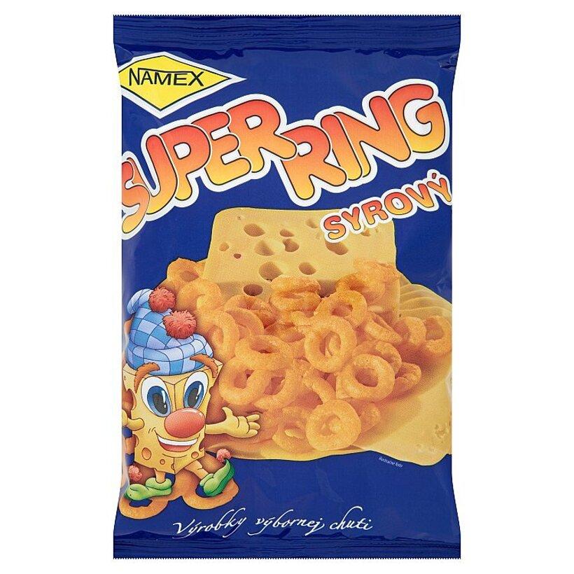 Namex Super Ring - Snack s príchuťou syra 60 g