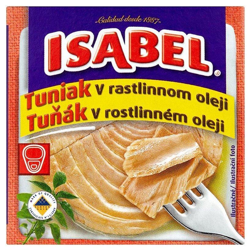 Isabel Tuniak v rastlinnom oleji 80 g