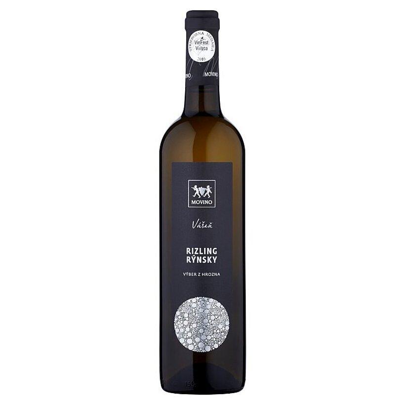 Movino Vášeň Rizling rýnsky výber z hrozna víno biele polosuché s prívlastkom 0,75 l