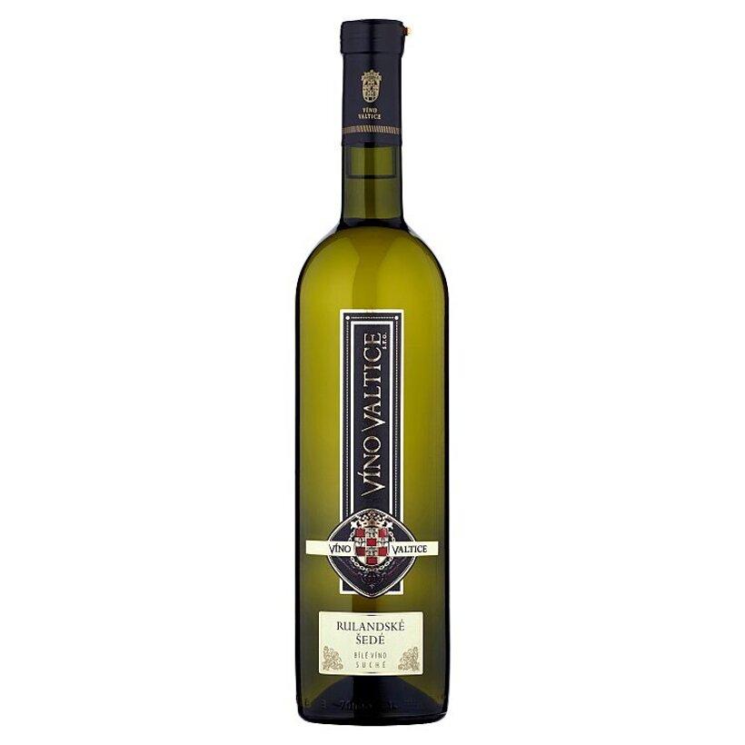 Víno Valtice Rulandské šedé biele suché víno 0,75 l