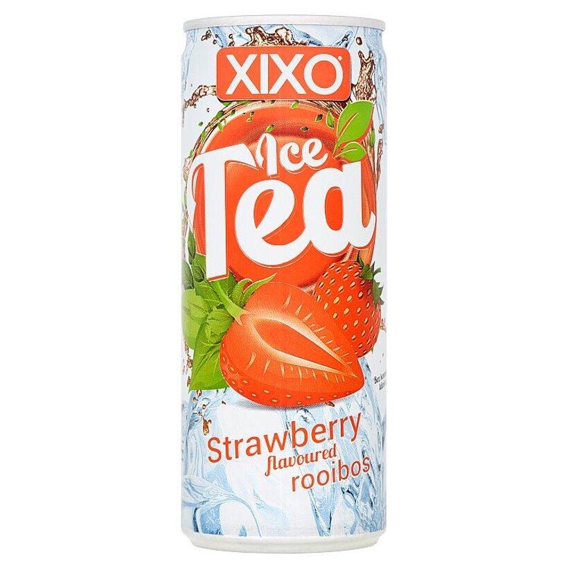 Xixo Ľadový čajový nápoj s príchuťou jahoda 250 ml