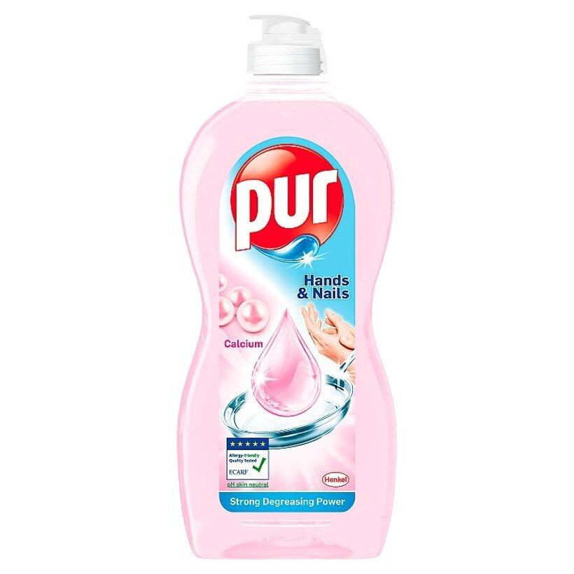 Pur Hands & Nails Prostriedok na ručné umývanie riadu Calcium 450 ml