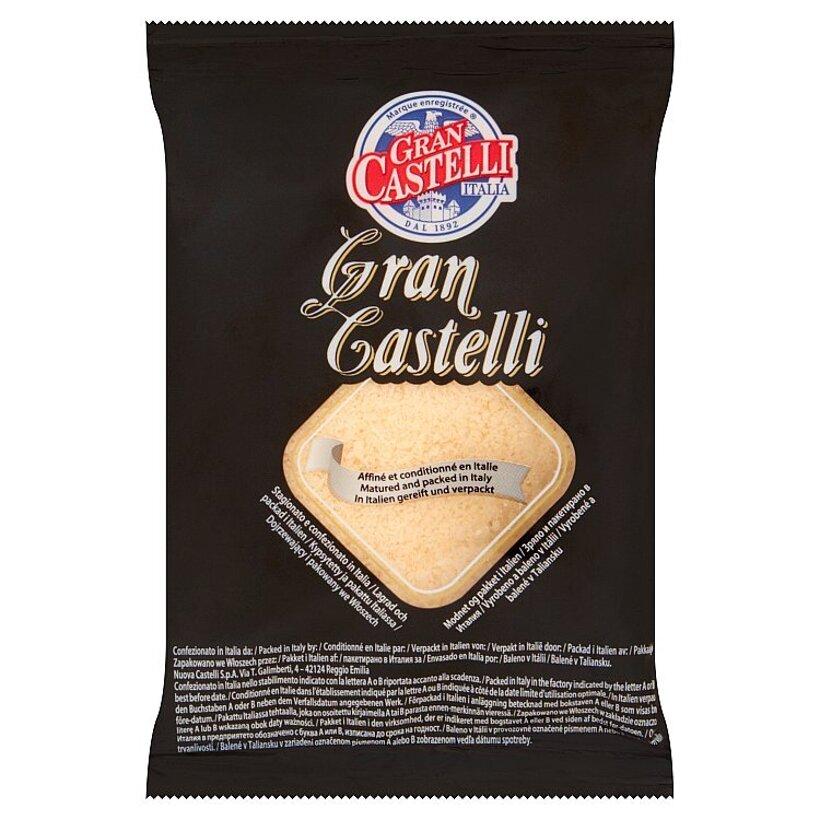 Gran Castelli Extra tvrdý polotučný syr - strúhaný 50 g