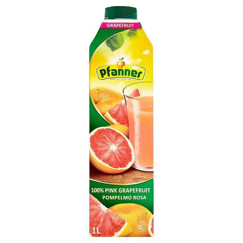 Pfanner 100% grapefruitová šťava 1 l