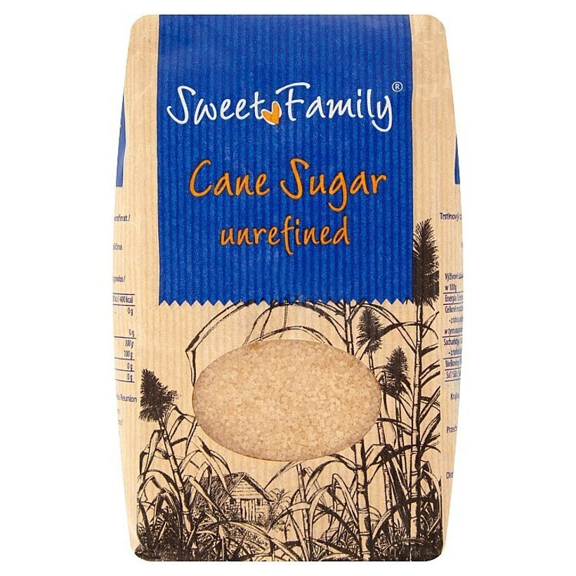Sweet Family Trstinový cukor nerafinovaný 1 kg