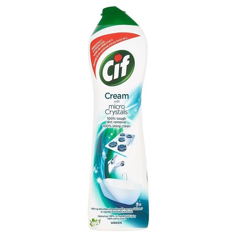 Cif Cream Green krémový abrazívny čistiaci prípravok 500 ml