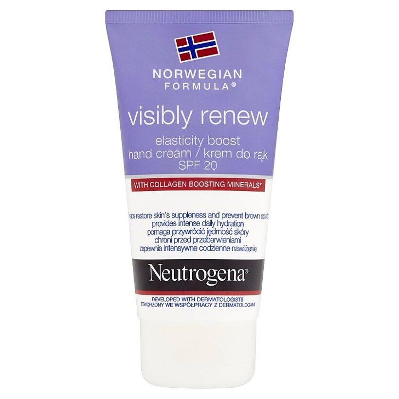 Neutrogena Visibly Renew denný krém na ruky 75 ml
